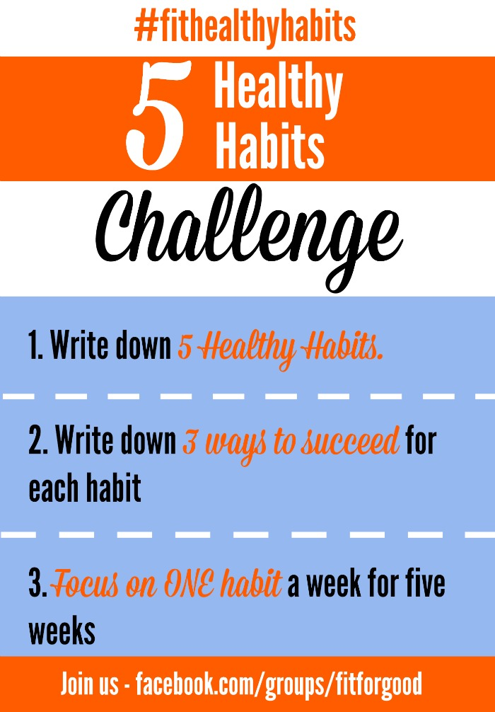 five healthy habits