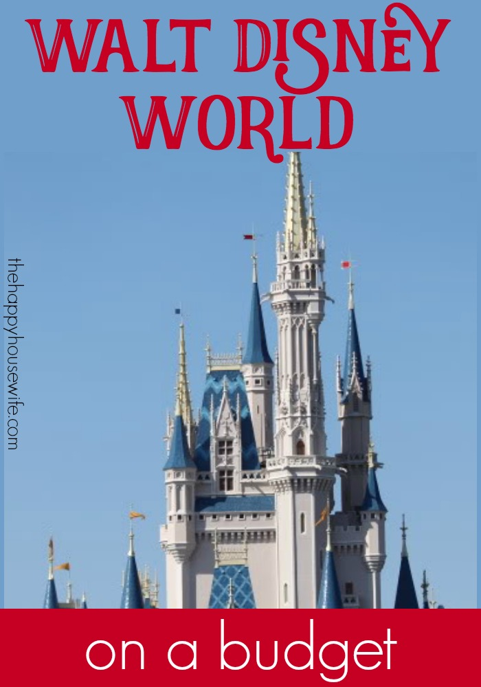Ideas for planning a trip to disney on a budget. From park tickets to saving in the parks you can have a great Disney vacation without breaking the bank.