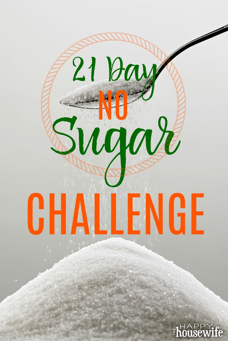 No Sugar Challenge Fit For Good The Happy Housewife