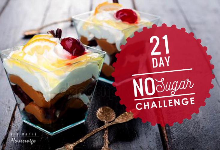 21 day no sugar challenge