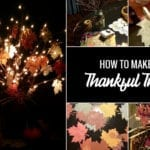 How to Make a Thankful Tree